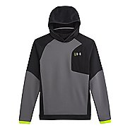 Mens Under Armour ColdGear Infrared Chrome Hoody Outerwear Jackets