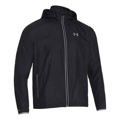 Mens Under Armour Storm Anchor Outerwear Jackets - Reflective/Black L