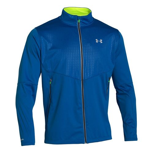 Mens Under Armour ColdGear Infrared Chrome Heavy Outerwear Jackets - Scatter XXL