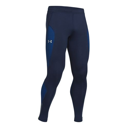 Mens Under Armour ColdGear Infrared Chrome Fitted Tights - Academy S