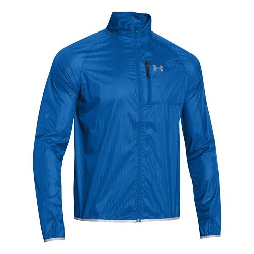 Mens Under Armour ColdGear Infrared Chrome Lite Running Jackets - Scatter S
