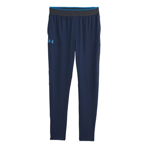 Mens Under Armour Elevated Tapered Knit Warm-Up Pants - Academy L