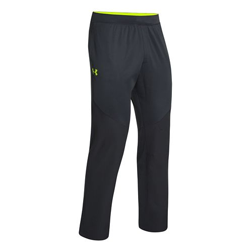 Mens Under Armour ColdGear Infrared Warm-Up Pants - Anthracite XXLT