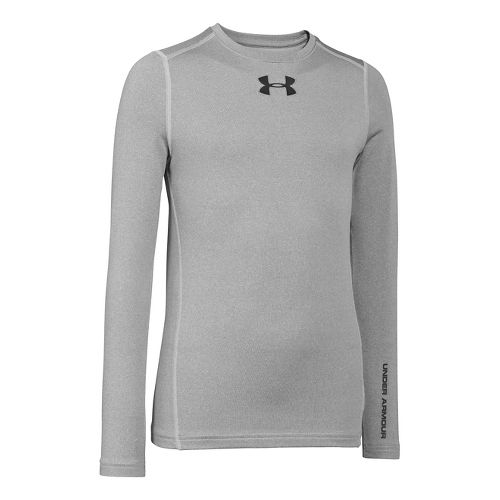 Kids Under Armour�Boys ColdGear EVO Fitted Longsleeve Crew