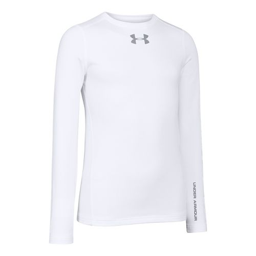 Children's Under Armour�Boys ColdGear EVO Fitted Longsleeve Crew