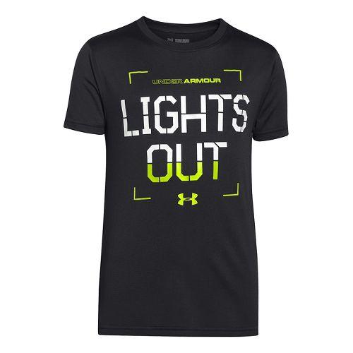 Kids Under Armour�Boys Hazard Glow in the Dark Shortsleeve T
