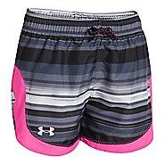Kids Under Armour Girls Novelty Stunner Unlined Shorts