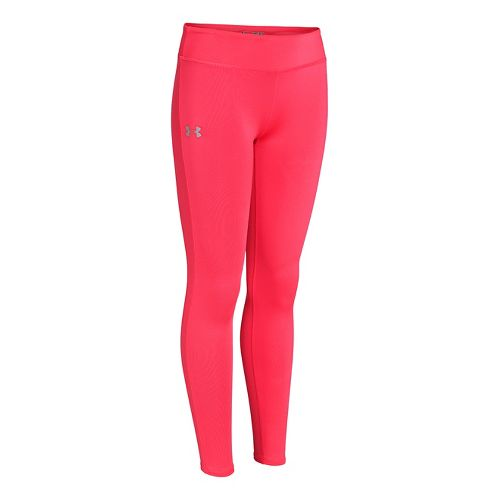 Kids Under Armour Girls Sonic Solid Legging Fitted Tights - Neo Pulse M