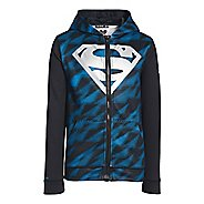 Kids Under Armour Boys Alter Ego Storm Full Zip Hoody Warm-Up Hooded Jackets