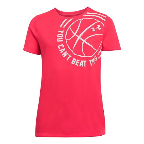 Kids Under Armour Girls Cant Beat This T Short Sleeve Technical Tops - Neo Pulse ...