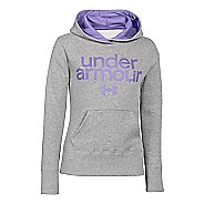 Kids Under Armour Girls Impulse Holiday Cotton Hoody Warm-Up Hooded Jackets
