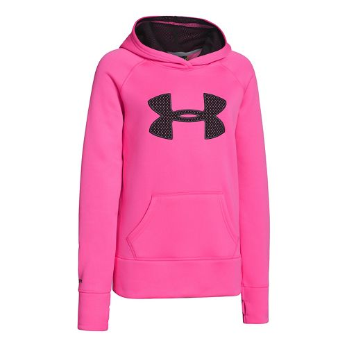 Kids Under Armour�Storm Big Logo Fleece Hoody