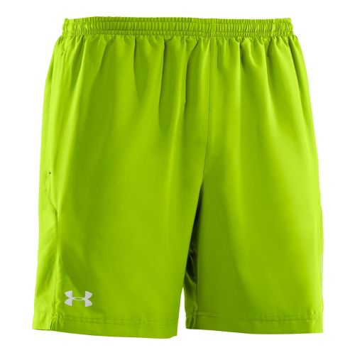 Mens Under Armour Escape 7 Lined Shorts - Hyper Green/Hyper Green S