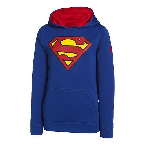 Kids Under Armour Boys Armour Fleece Storm Alter Ego Hoody Warm-Up Hooded Jackets - Royal ...