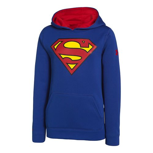 Kids Under Armour Boys Armour Fleece Storm Alter Ego Hoody Warm-Up Hooded Jackets - Royal ...