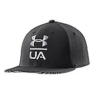 Kids Under Armour Boys Eyes Up Stretch Fit Cap Headwear