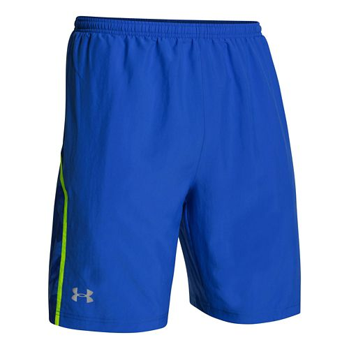 Mens Under Armour Escape 9 Woven Lined Shorts - Moon Shadow L