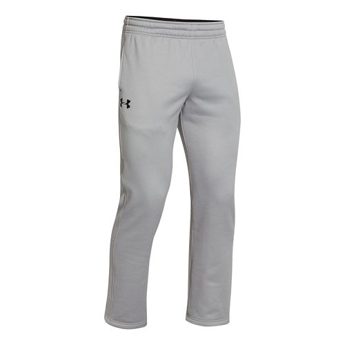 Mens Under Armour Fleece Storm Cold weather Pants - Grey Heather/Black XL-T