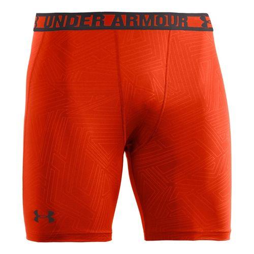 Mens Under Armour Heatgear Sonic Printed Compression Short Boxer Brief Underwear Bottoms - ...