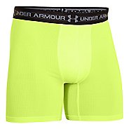 "Mens Under Armour Mesh BoxerJock 6"" Boxer Brief Underwear Bottoms"
