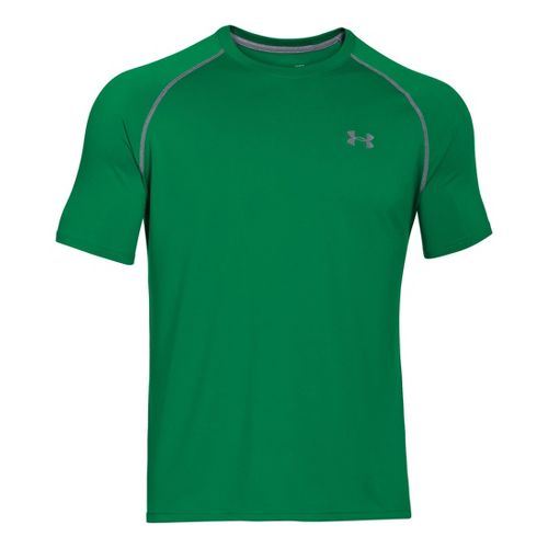 Mens Under Armour Tech T Short Sleeve Technical Tops - Feisty XL