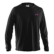 Mens Under Armour Tech T Long Sleeve No Zip Technical Tops