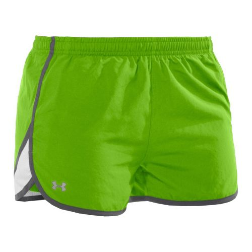 Womens Under Armour TG Escape 3 Lined Shorts - Poison/Graphite XL