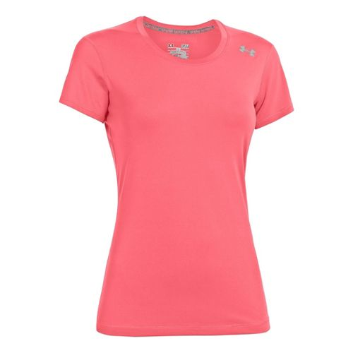Womens Under Armour Sonic Short Sleeve Technical Tops - Brilliance XS