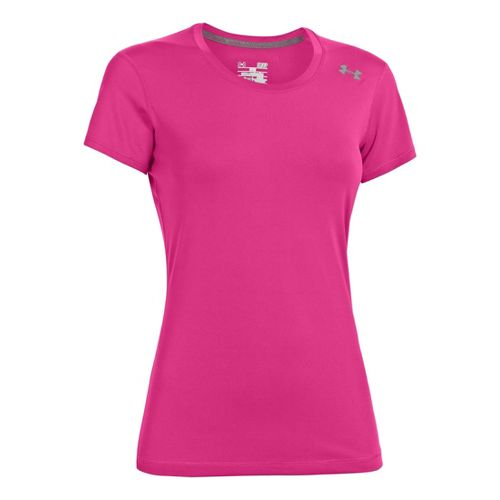 Womens Under Armour Sonic Short Sleeve Technical Tops - Chaos S