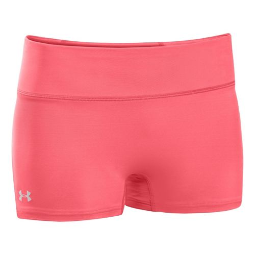 Womens Under Armour Authentic Shorty Fitted Shorts - Brilliance XL