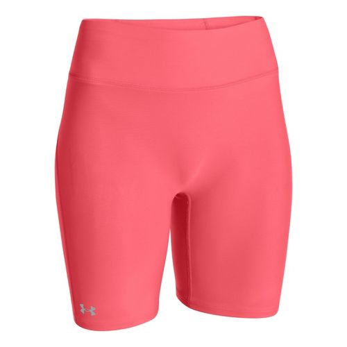 Womens Under Armour Authentic Long Fitted Shorts - Brilliance S