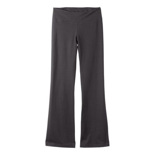 Womens Under Armour Perfect Full Length Pants - Charcoal/Metallic Pewter L