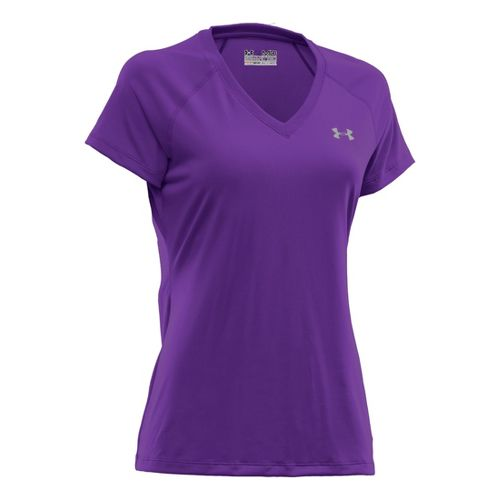 Womens Under Armour Tech Shortsleeve T Technical Tops - Pride XL