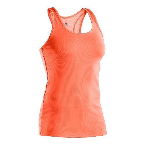 Womens Under Armour Victory Tanks Technical Tops - Explosive/Explosive M