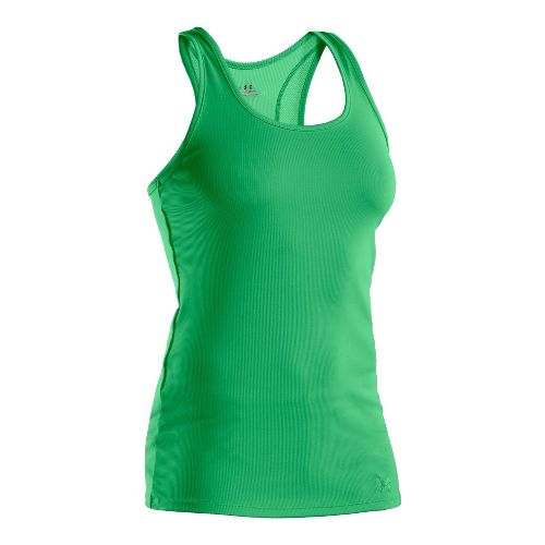 Womens Under Armour Victory Tanks Technical Tops - Jelly Bean/Jelly Bean L