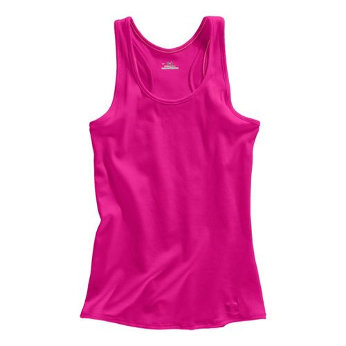 Womens Under Armour Victory Tanks Technical Tops - Wild/Wild M