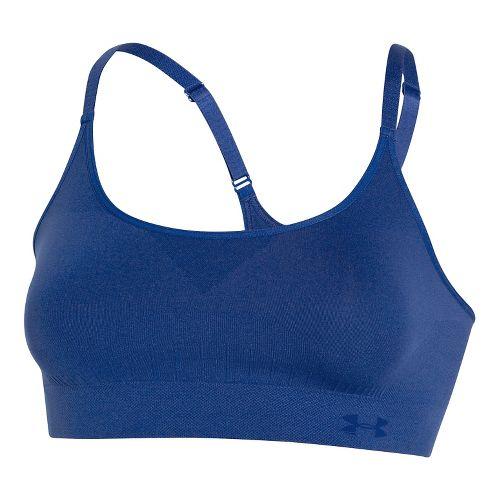 Womens Under Armour Seamless Sports Bras - Cobalt XS