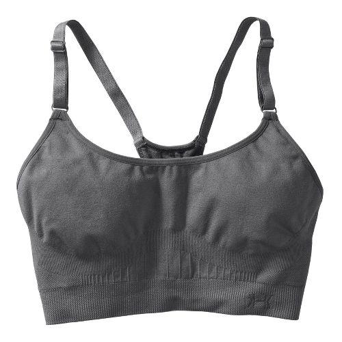Womens Under Armour Seamless Sports Bras - Graphite/Graphite M
