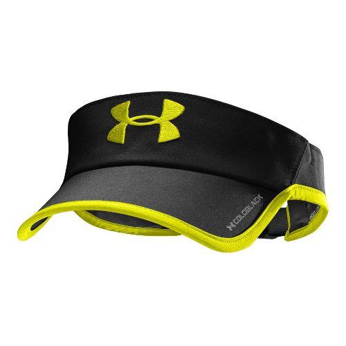 Mens Under Armour Armourlight Visor Headwear - Black/High Vis Yellow