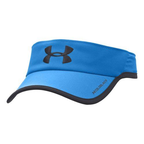 Mens Under Armour Armourlight Visor Headwear - Electric Blue/Black