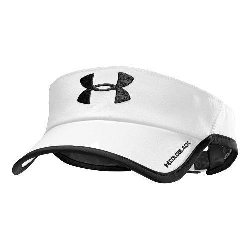 Mens Under Armour Armourlight Visor Headwear - White/Black