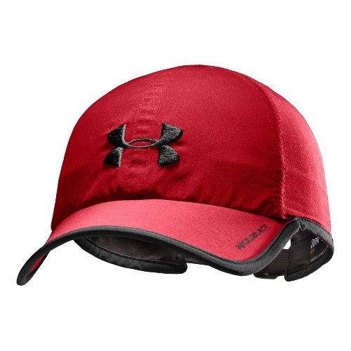 Mens Under Armour Armourlight Cap Headwear - Red/Black