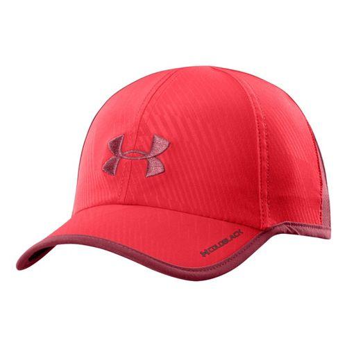Mens Under Armour Armourlight Cap Headwear - Risk Red