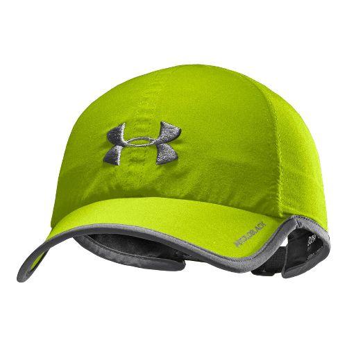 Mens Under Armour Armourlight Cap Headwear - Velocity/Graphite