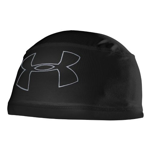 Mens Under Armour Mesh ll Skull Cap Headwear - Black