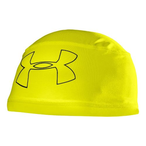 Mens Under Armour Mesh ll Skull Cap Headwear - Hi-Viz Yellow/Black
