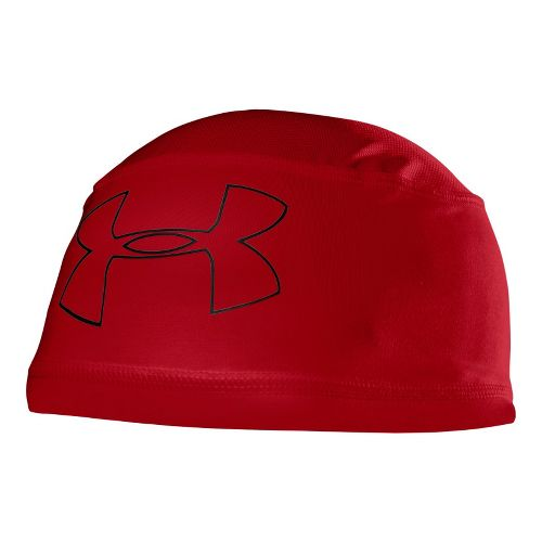 Mens Under Armour Mesh ll Skull Cap Headwear - Red