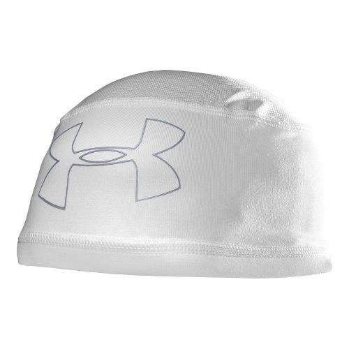 Mens Under Armour Mesh ll Skull Cap Headwear - White/Steel