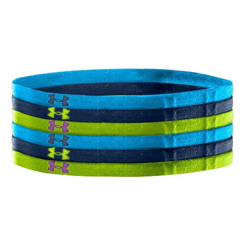 Womens Under Armour Team Mini Headbands Headwear - Electric Blue