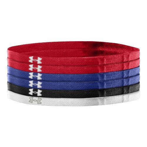 Womens Under Armour Team Mini Headbands Headwear - Red/Royal